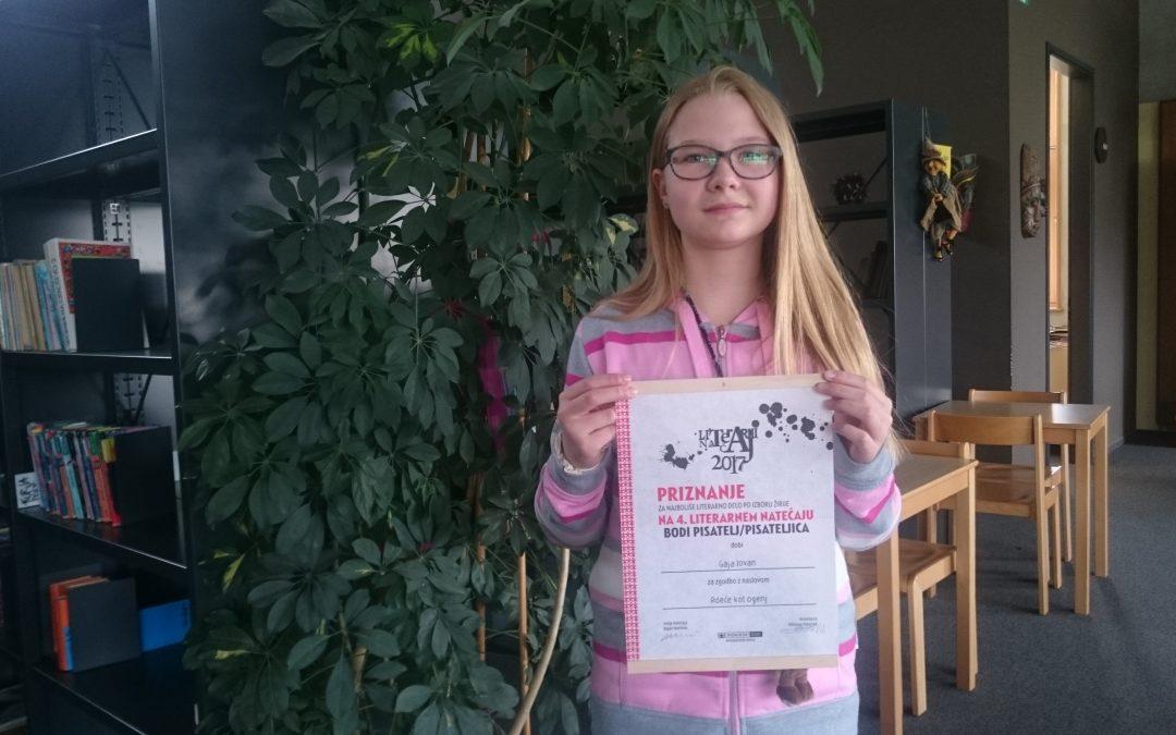 Literarni natečaj BODI PISATELJ 2017, Pionirski dom