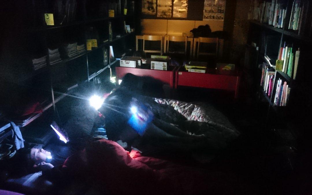 Bralno – filmska noč za učence 6. in 7. razredov