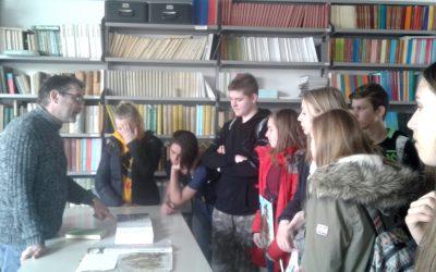 Obisk herbarijske zbirke