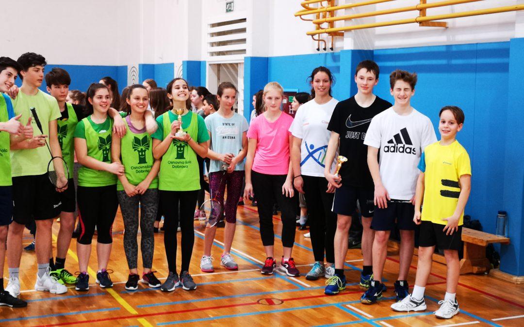 Področno tekmovanje v namiznem tenisu in ekipnem badmintonu