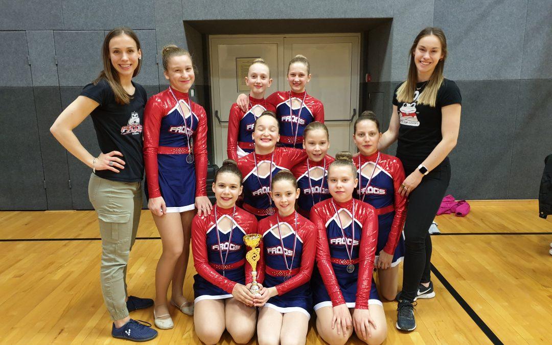 Šolsko državno prvenstvo v cheer plesu 2019