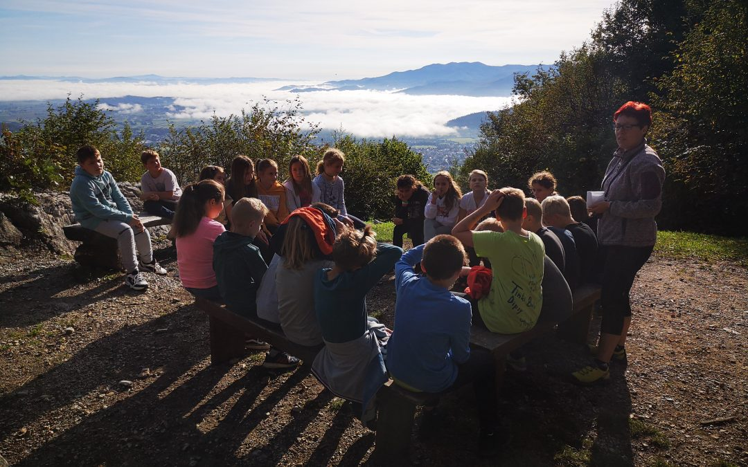 Spleti in razširi mrežo prijateljstva na Planini nad Vrhniko s 6. B